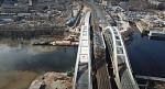 Завершено строительство нового железнодорожного моста через Москву-реку для МЦД-1