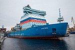 Ледокол «Арктика» вышел на ходовые испытания