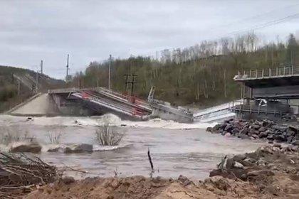 Названа причина обрушения железнодорожного моста под Мурманском