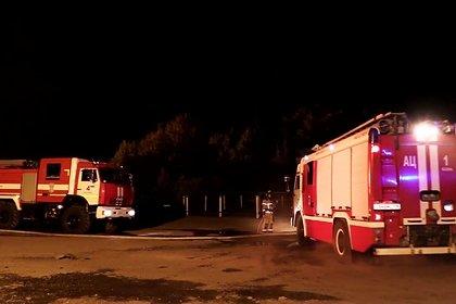 Спасатели рассказали подробности взрыва в хранилище газа в Казани