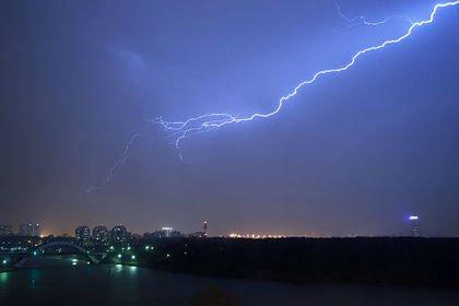 Молния ударила в посетителей московского парка