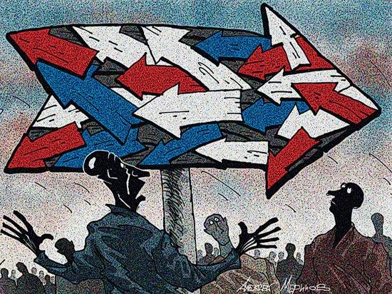США ждут большие проблемы при любом исходе выборов