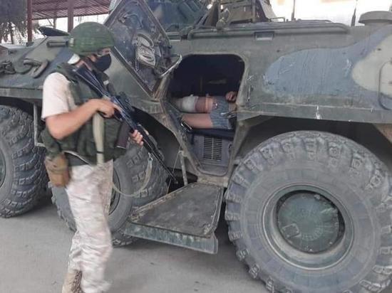 Российских военных атаковали в Сирии