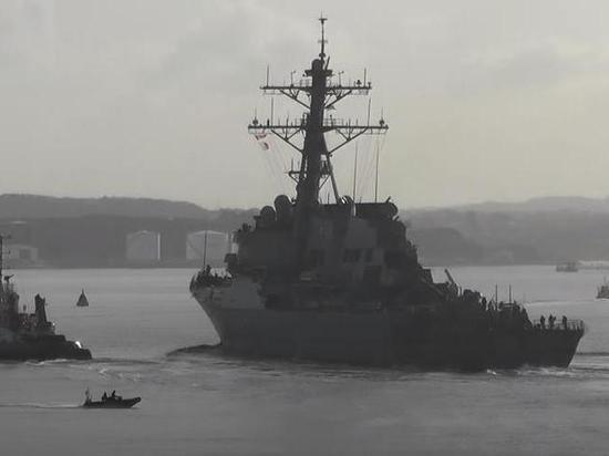ВМС России отслеживают американский эсминец Porter в Черном море