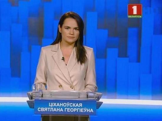 Соперница Лукашенко сообщила, что у президента очень низкий рейтинг