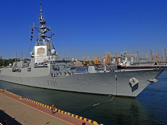 В Сети оценили турецкий эсминец в Одессе: письмо до султана дошло