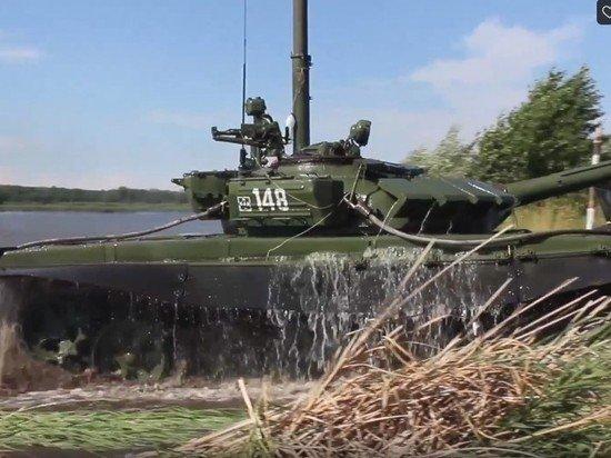 В Аргентине впечатлялись подводной работой экипажа российского Т-72Б3