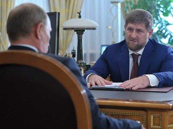Кадыров раскрыл подробности разговора с Путиным о присвоении звания