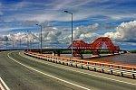 На год раньше срока: в ХМАО отремонтировали мост «Красный дракон» через реку Иртыш