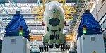 На роботизированной линии в Ульяновске по новым технологиям собран первый фюзеляж Ил-76МД-90А