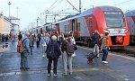 Электропоезда «Ласточка» начали курсировать между Краснокамском и Пермью