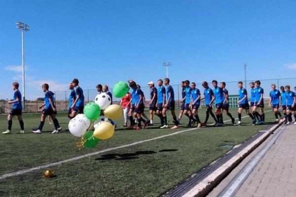 В первую в Крыму Академию футбола зачислили 150 воспитанников