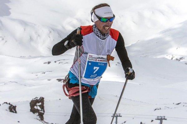 Россиянин установил мировой рекорд по скорости подъема на Эльбрус