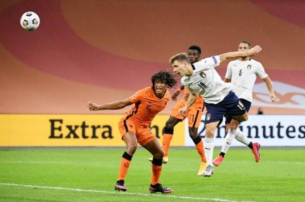 Сборная Нидерландов проиграла Италии во втором туре Лиги наций