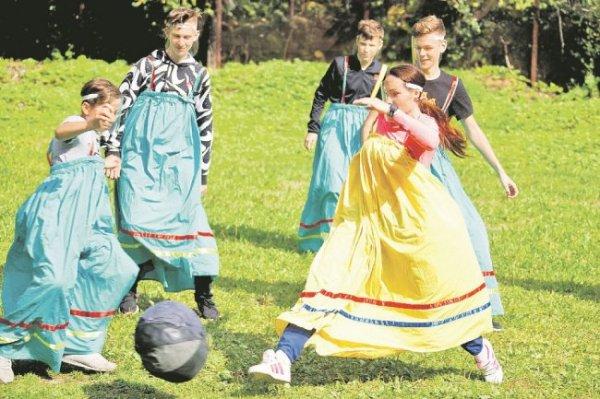 В Сыктывкаре возродили саамский футбол