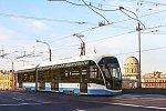 В Челябинск для испытаний прибыл новый тверской трамвай