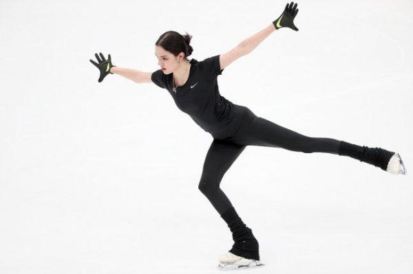 Медведева провела первую тренировку под руководством Тутберидзе