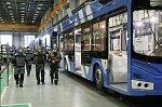 Линию по производству низкопольных троллейбусов «Адмирал» открыли в Петербурге