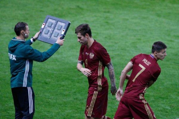 УЕФА одобрил использование пяти замен в одном матче до конца сезона