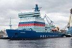 Завершено строительство головного атомного ледокола «Арктика»