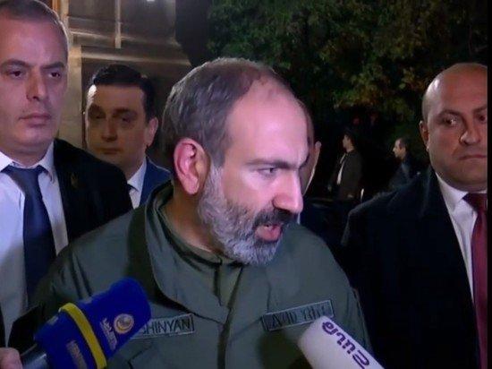 Пашинян не исключил выхода Карабахского конфликта за пределы региона