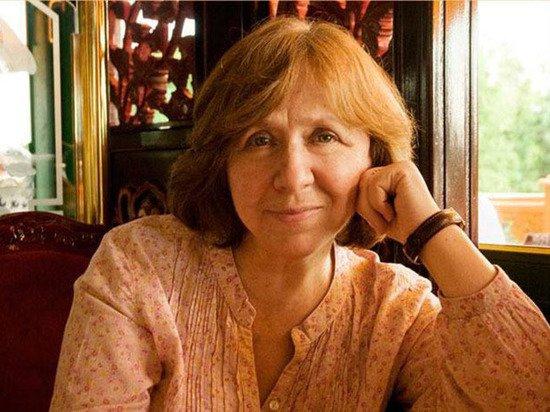 Светлана Алексиевич уехала из Белоруссии