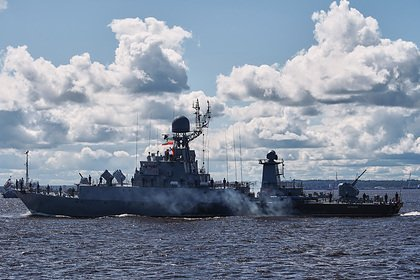 ВМФ России рассказал о столкновении боевого корабля с иностранным судном