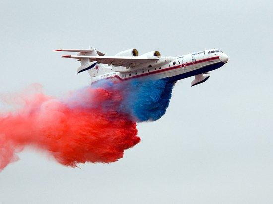 Полёты российских самолётов-амфибий вызвали беспокойство жителей Антальи