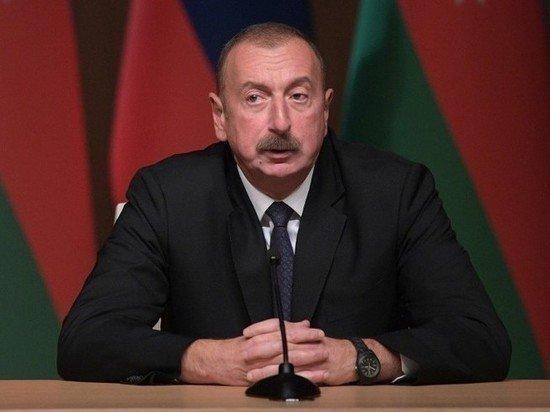 Алиев выступил с обращением к нации: