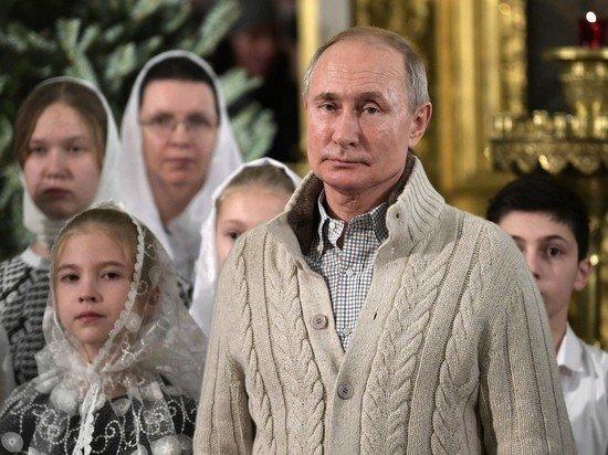 Путин считает, что за годы у власти сберег человеческие качества