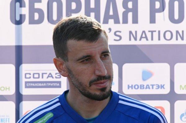 Назван стартовый состав сборной России на матч со шведами