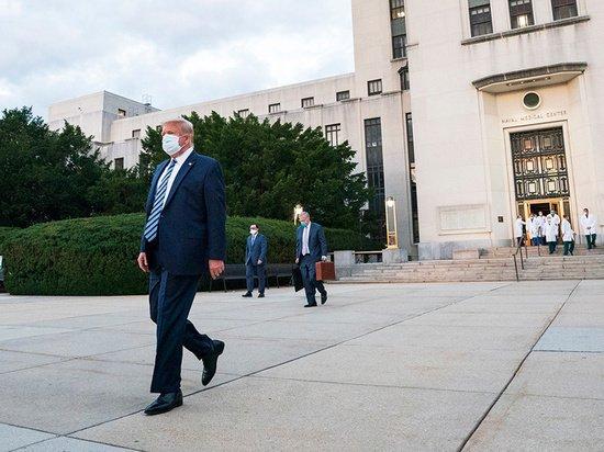 Дональд Трамп решил собрать митинг через неделю после заражения коронавирусом