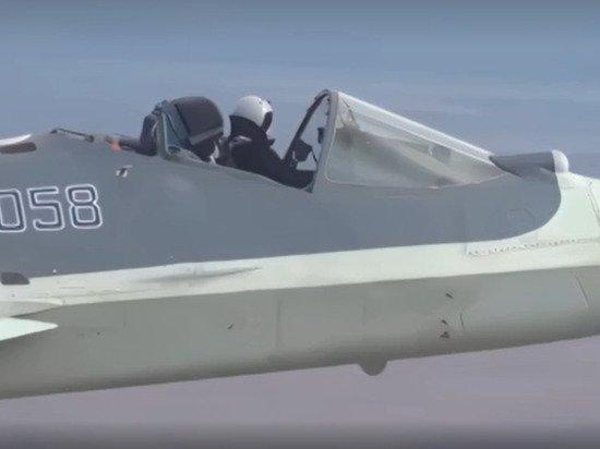 Американцы поразились виртуозному полету российского Су-57