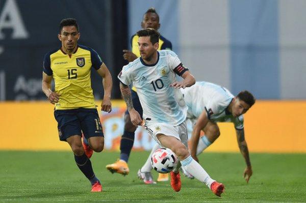 Месси принес победу Аргентине в матче отбора чемпионата мира-2022