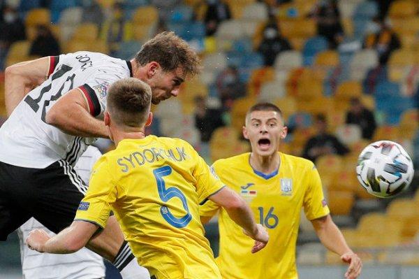Футболисты сборной Германии одержали первую победу в Лиге наций
