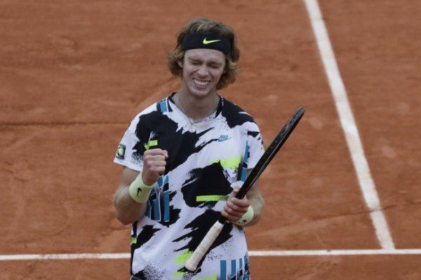 Рублев впервые в карьере вошел в десятку рейтинга АТР