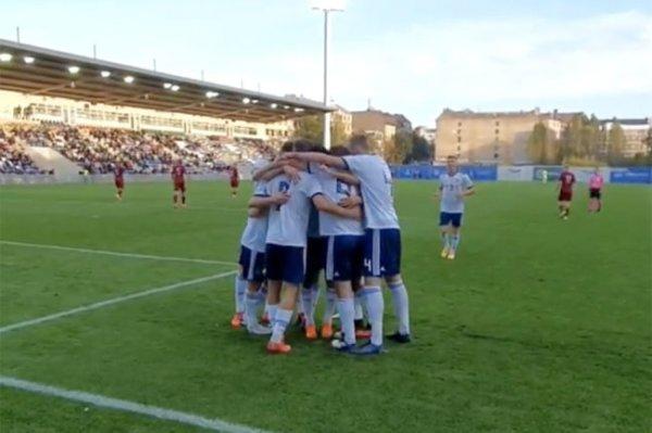 Молодежная сборная России по футболу пробилась на чемпионат Европы