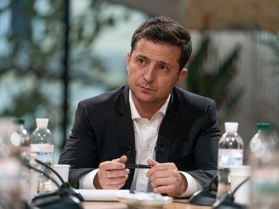 Зеленский предложил украинцам проголосовать за свободную экономическую зону на Донбассе
