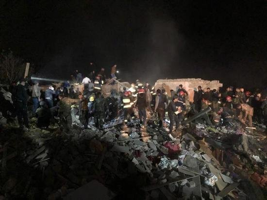 В Баку сообщили о 12 погибших в результате ракетного обстрела Гянджи