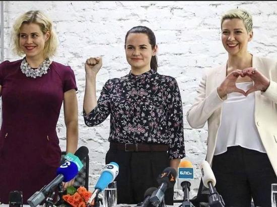Тихановскую, Колесникову и Цепкало выдвинули на Нобелевскую премию мира