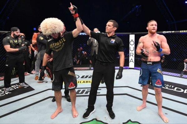 Нурмагомедов сообщил, что он возглавил рейтинг UFC вне весовых категорий