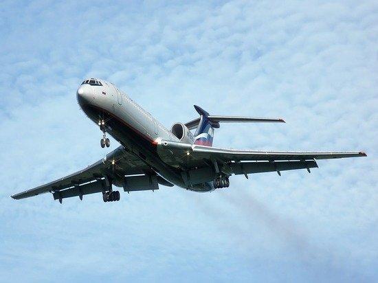 Самолет Ту-154 совершил последний регулярный рейс