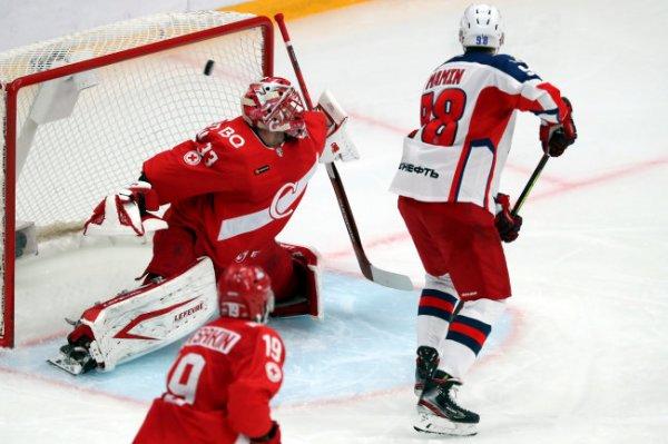 ЦСКА в овертайме обыграл