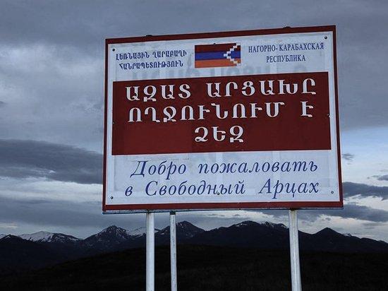 Карабах заявил об обстреле белым фосфором