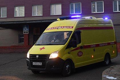 Пожар в российском ресторане-тереме попал на видео