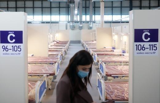 Более 650 пациентов лечатся в московской Коммунарке