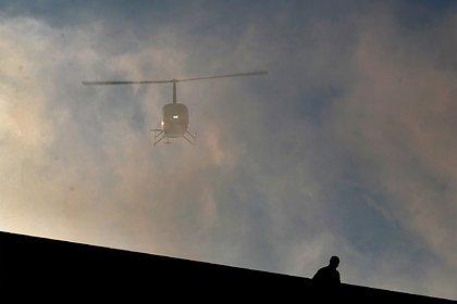 Упавший в реку под Вологдой вертолет с двумя погибшими унесло течением