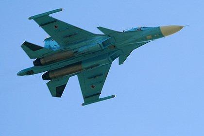 Названа возможная причина крушения бомбардировщика Су-34 на Дальнем Востоке