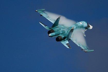 Су-34 потерпел крушение на Дальнем Востоке