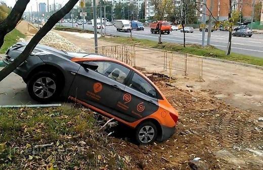 Власти Москвы заявили о росте числа ДТП с пострадавшими с участием каршеринга